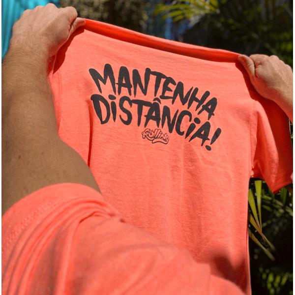Camiseta Mantenha Distancia (P ao GG)