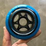 Roda Powerslide Galaxy 84mm 86A (6 rodas)