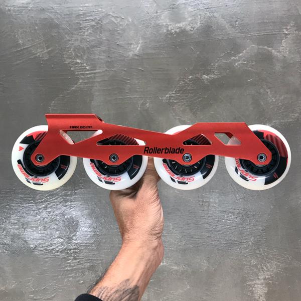 Kit Base Rollerblade Pro - 4 x 80mm - 261mm